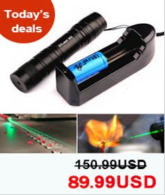 High Power 3000mw 520nm Green Laser Pointers