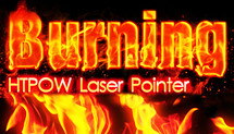 Burning Laser Pointer