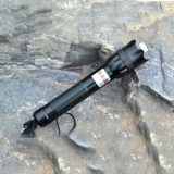 Waterproof Outdoors Green Lasser Pointer Pen with Clip Visible Beam High Power