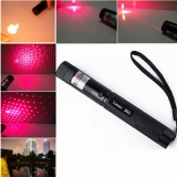 2in1 Red Laser Flashlight 2000mw Starry Red Laser Focusing Ignition Light