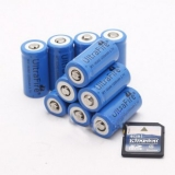 16340 1200mAh Rechargeable Lithium Battery for Sale Low Prices