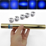 HTPOW 5000mw Bluer Laser Pointer 450nm Lasers 10Miles Range