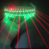HTPOW Laser LED Shutter Glasses Red Laser Eyeglass Powerful Bar Flashing Rave Wedding Party Supplies