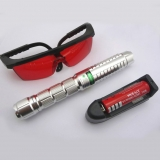 3000mw Green Laser Flashlight Adjustable Laser Pointer 532nm Starry Laser