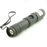 1000mw Green Laser Flashlight Adjustable Laser Pointer With Safety Lock