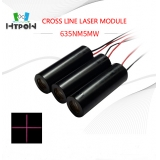 635nm Cross Line Laser Module 5mW Red Laser Generator With Crosshair Beam Pattern