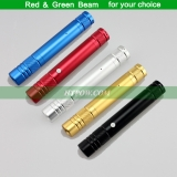 532nm 100mW Green Beam / 650nm 200mW Red Beam Laser Pointer Five Colors For Choice