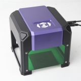 Laser Engraver 1500mw Desktop Mini Handicraft Cutting Machine DIY Art Craft Printer Wood Metal Glass Paper Cutter Blue-Purple Light