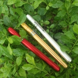 Class 3B Blue Green Red Purple Beam Presentation Laser Pen Four Beam Colors For Choice Silver Shell
