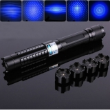 445nm 10000mW Burning Laser Pointer Ultra Powerful Visible Blue Light with Full Free Accessories
