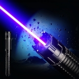 445nm 30000mW 3-Modes 5in1 Coolest High Power Laser Pointer Burns Paper Pop Ballons Adjustable Flashlight