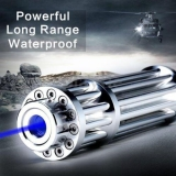 High Power Laser Pointer 30000mw 445nm Brightest Blue Light Gatling Most Powerful Super Strong Lasers Pen For Sale