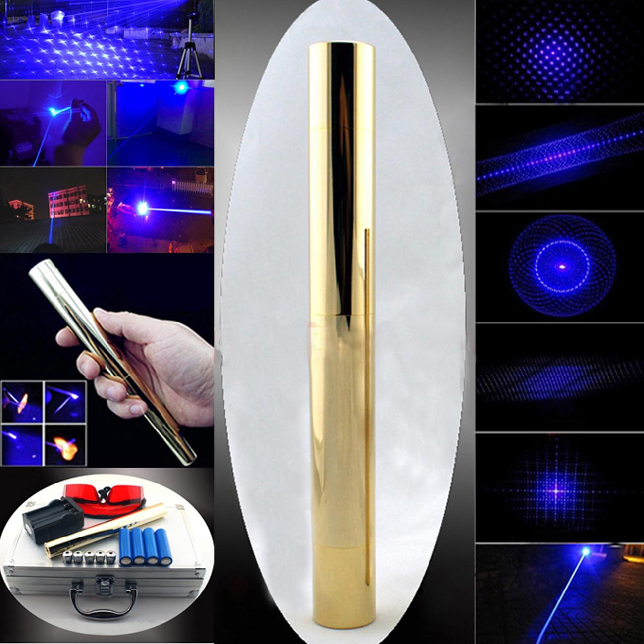 Laser Pointer Blue Portable Efficient