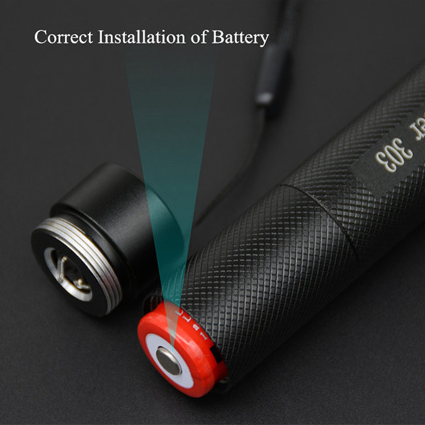 Green laser pointer and its accessories