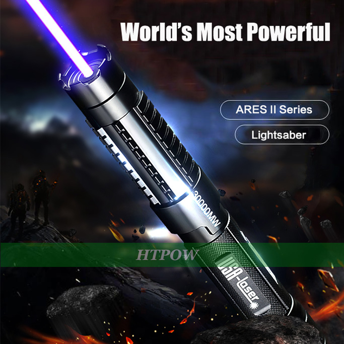 Strong Powerful Laser Pointer Blue Burning