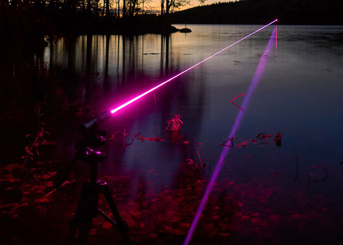 RGB red laser pointer