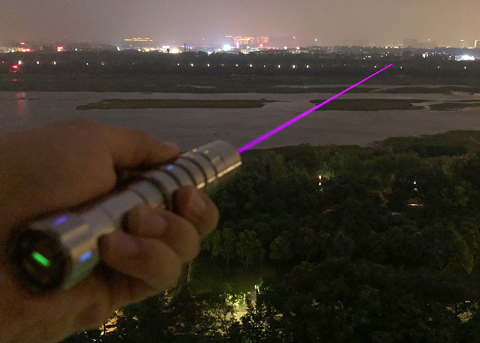 RGB pink laser pointer