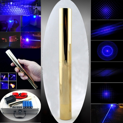 30000mW Laser Pointer Blue Portable Efficient 445nm High Powered