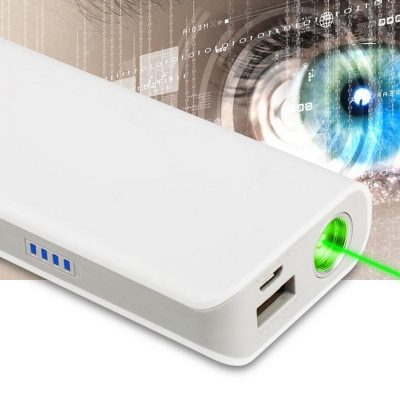 Green Laser Portable Charger