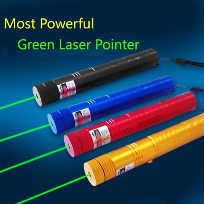 most powerful green laser