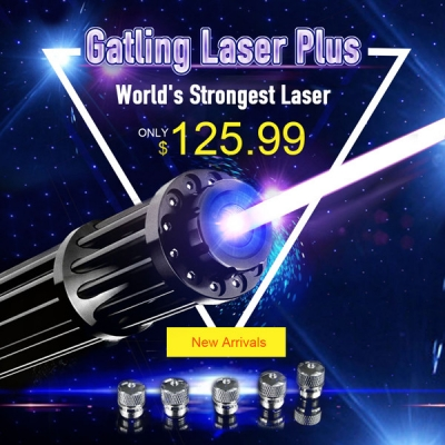 Real Ultra Powerful Gatling Stretch Laser Pointer For Sale