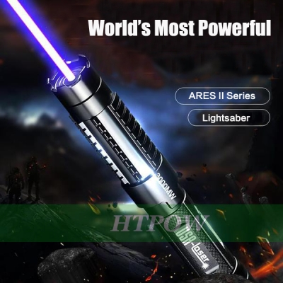 High Tech 30000mW 445nm Strong Powerful Laser Pointer Blue Burning Light with Laser Sword GIFT Sale Online