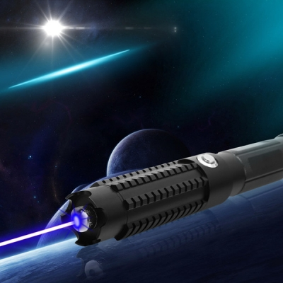 Professional Military Grade Laser Pointer Ultra Powerful 30000mW 450nm Blue with Safety Lock For Sale