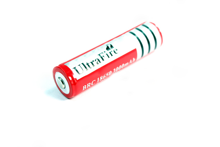 18650 UltraFire 3000mAh rechargeable battery