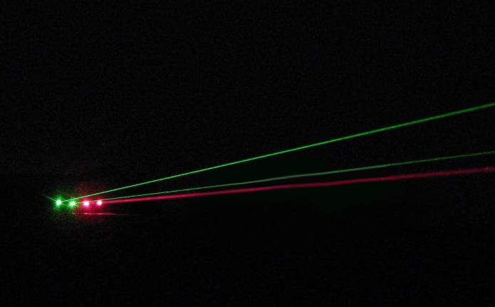 high-power 5mW laser pointer
