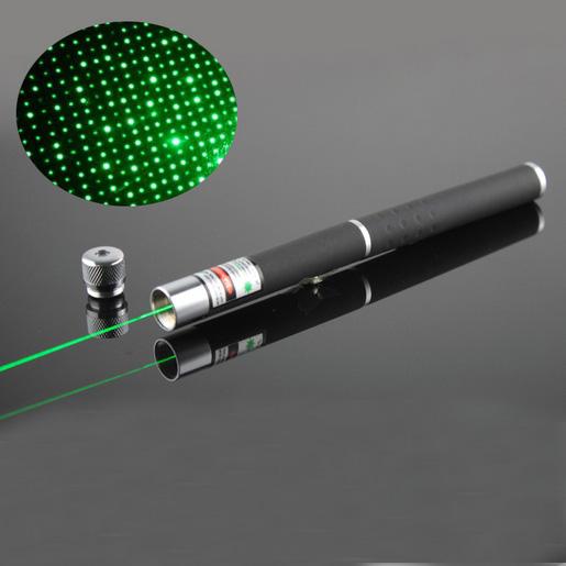 Green 20mw Laser Pen Pointer 2 In 1 Starry 532nm Dot Light