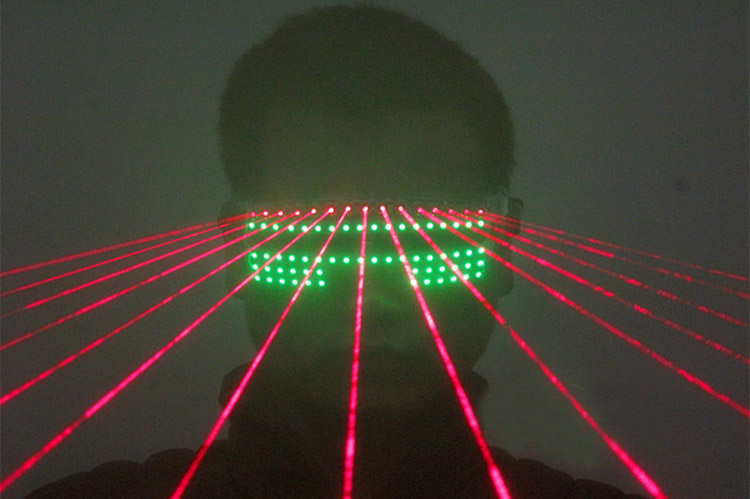 Laser LED Shutter Glasses