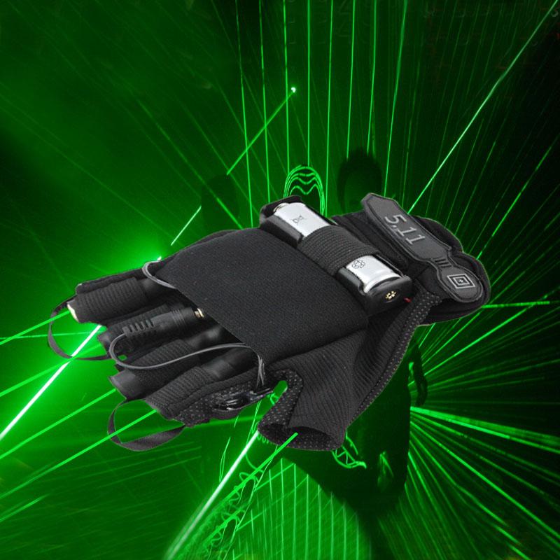Laser Gloves Htpow 4 Fingers Green Laser Glove Dj Show