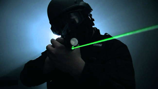 laser sight green