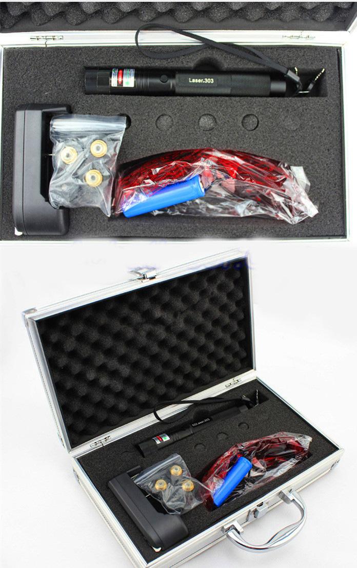 5000mw HTPOW Green Laser Packge