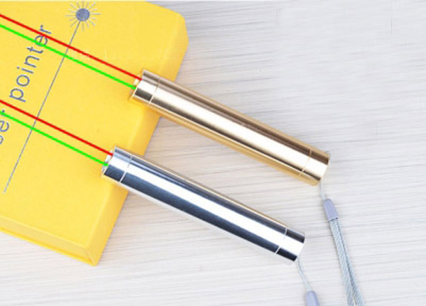 Red Green Laser Pointer Pen 2 in 1