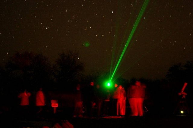 50mW Fixed Focus Green Laser Pointer