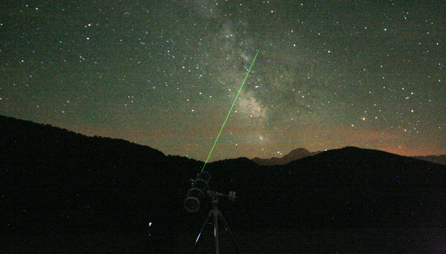 green 300mw astronomy laser pointer