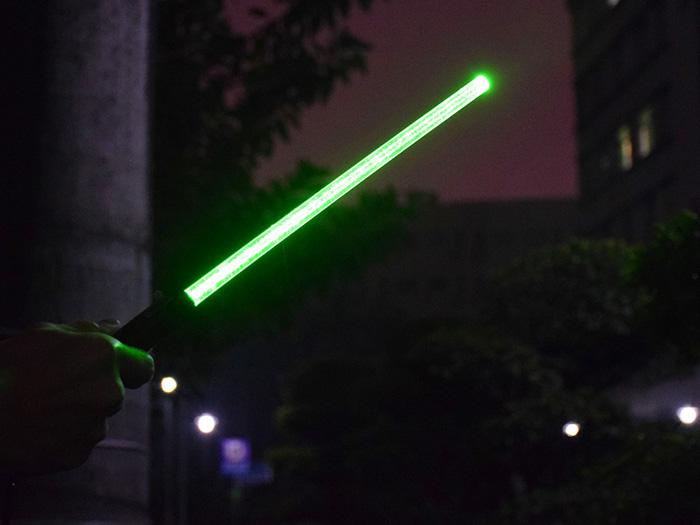 Powerful Laser Sword