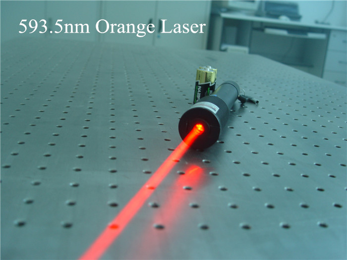 strong yellow laser