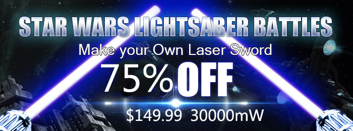 Gatling Laser Pointer Promotion